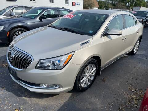 2014 Buick LaCrosse for sale at Chilson-Wilcox Inc Lawrenceville in Lawrenceville PA