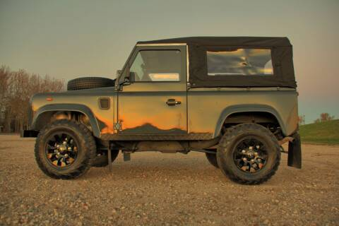 1984 Land Rover Defender for sale at McQueen Classics in Lewes DE