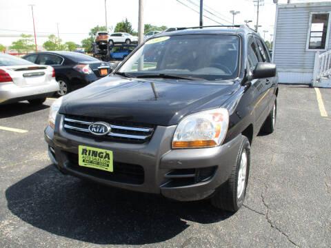 2007 Kia Sportage for sale at Ringa Auto Sales in Arlington Heights IL