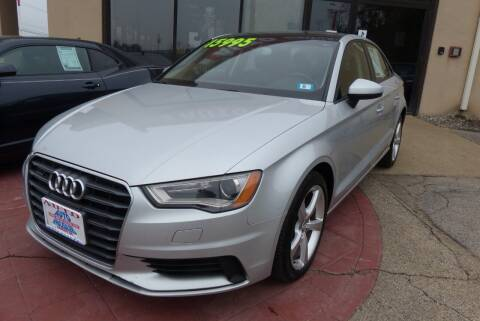 2015 Audi A3 for sale at Auto Wholesalers Of Hooksett in Hooksett NH