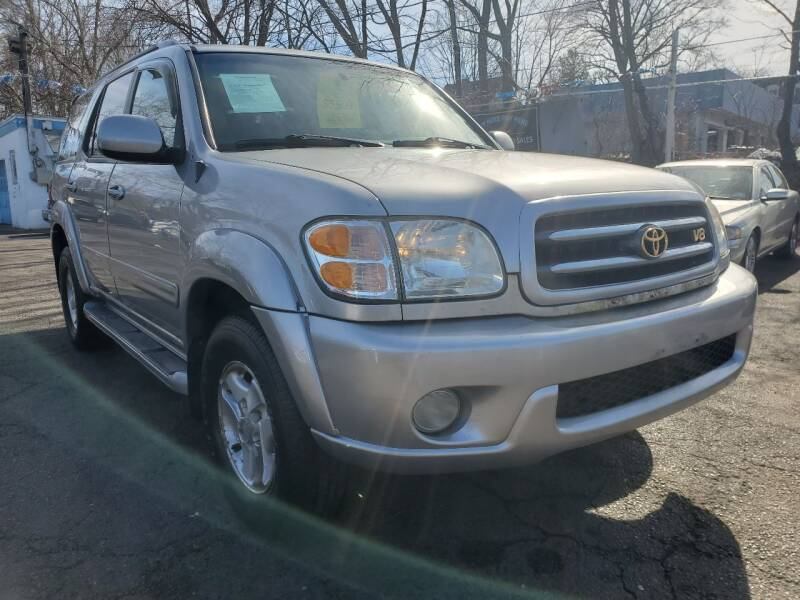 2002 Toyota Sequoia for sale at New Plainfield Auto Sales in Plainfield NJ