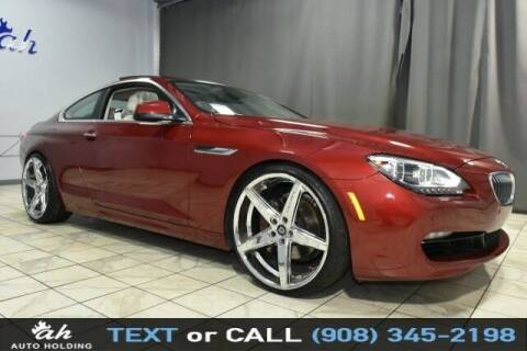 2012 BMW 6 Series for sale at AUTO HOLDING in Hillside NJ