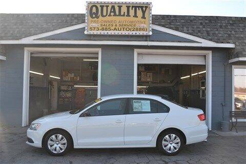 2011 Volkswagen Jetta for sale at Quality Pre-Owned Automotive in Cuba MO