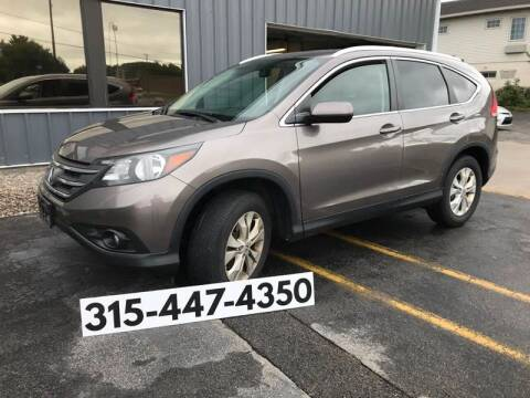 2013 Honda CR-V for sale at Dominic Sales LTD in Syracuse NY