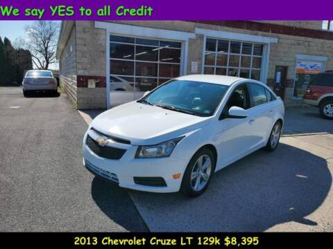 2013 Chevrolet Cruze for sale at Fortnas Used Cars in Jonestown PA