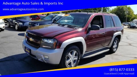 2007 Chevrolet TrailBlazer for sale at Advantage Auto Sales & Imports Inc in Loves Park IL