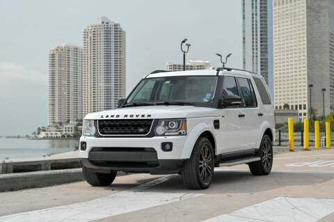 2016 Land Rover LR4 for sale at EURO STABLE in Miami FL