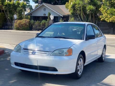 2003 Honda Civic for sale at ZaZa Motors in San Leandro CA