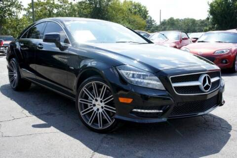 2012 Mercedes-Benz CLS for sale at CU Carfinders in Norcross GA