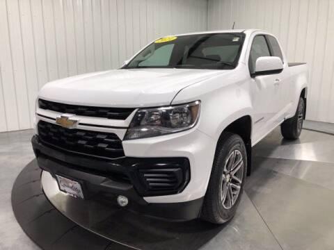 2021 Chevrolet Colorado for sale at HILAND TOYOTA in Moline IL