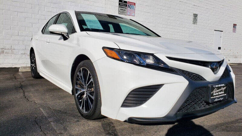 2018 Toyota Camry for sale at ADVANTAGE AUTO SALES INC in Bell CA