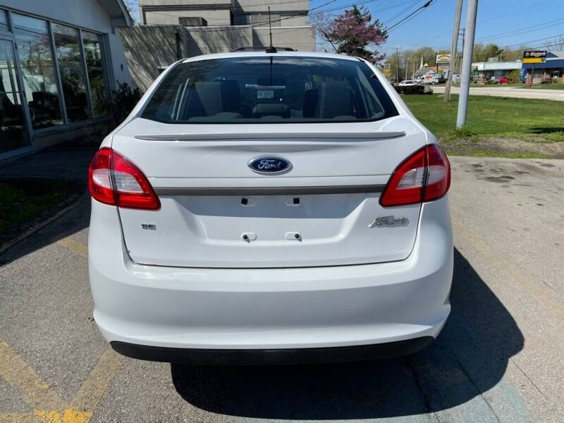 2012 Ford Fiesta for sale at Lakeshore Auto Wholesalers in Amherst OH