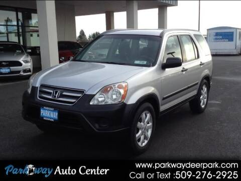 2006 Honda CR-V for sale at PARKWAY AUTO CENTER AND RV in Deer Park WA
