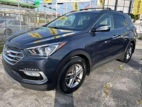 2018 Hyundai Santa Fe Sport for sale at MIAMI AUTO LIQUIDATORS in Miami FL