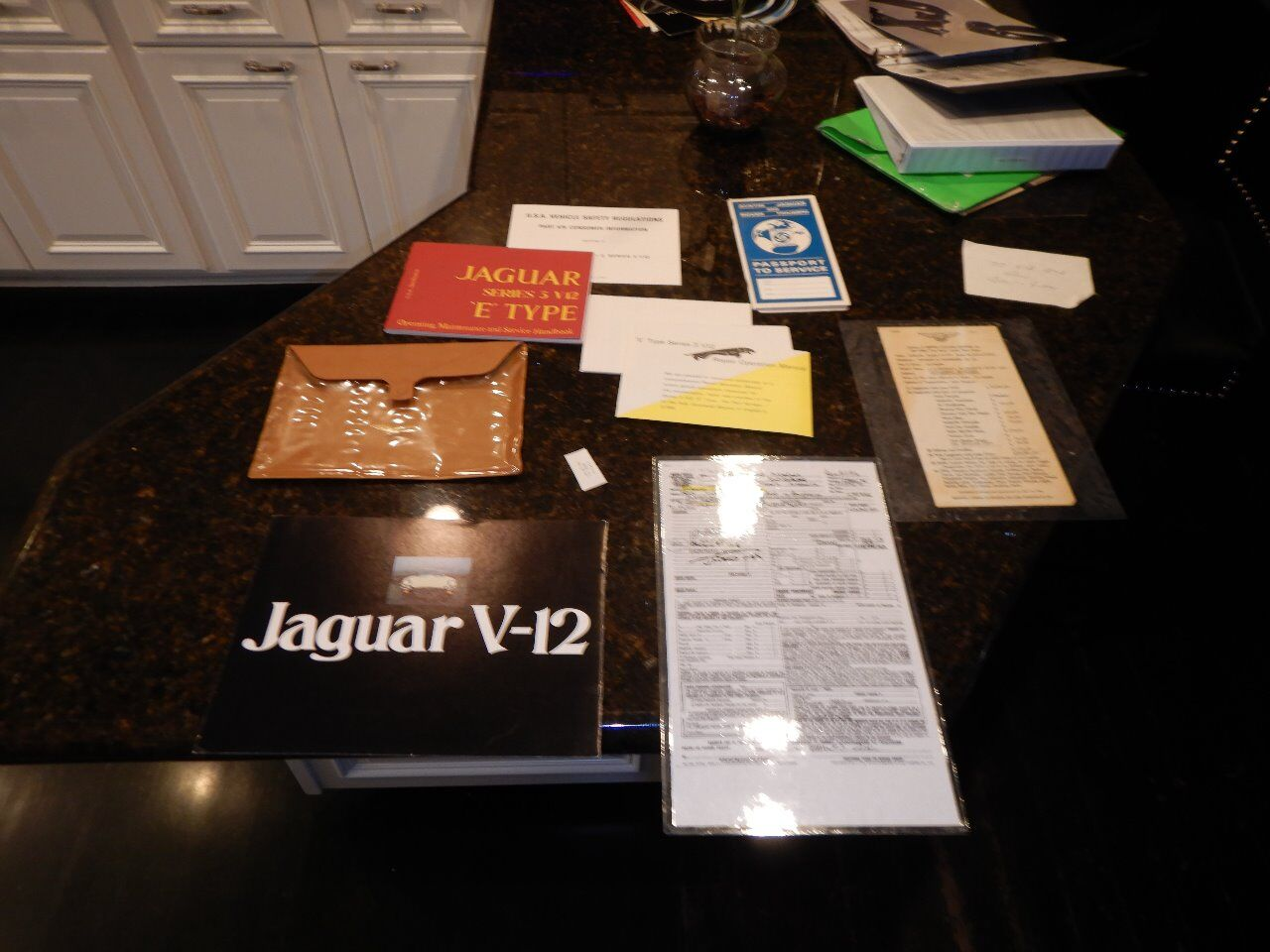 1973 Jaguar XKE 89