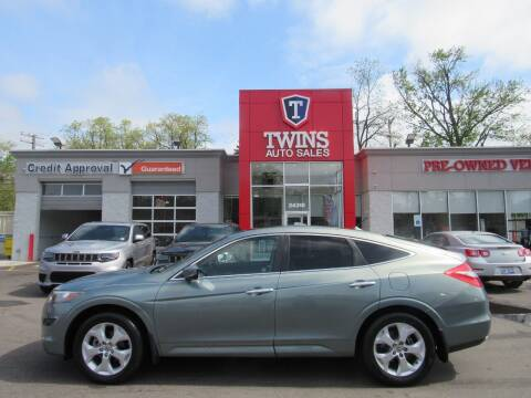 2012 Honda Crosstour for sale at Twins Auto Sales Inc in Detroit MI