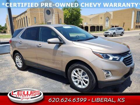 2019 Chevrolet Equinox for sale at Lewis Chevrolet Buick of Liberal in Liberal KS