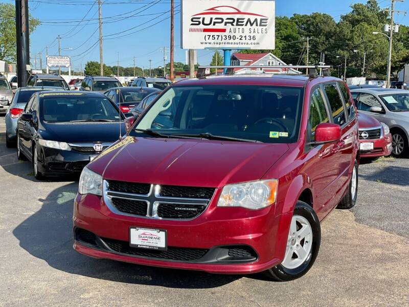 2011 Dodge Grand Caravan for sale at Supreme Auto Sales in Chesapeake VA