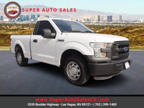 2016 Ford F-150 for sale at Super Auto Sales in Las Vegas NV
