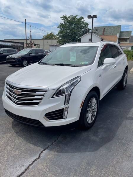 2017 Cadillac XT5 for sale at Red Top Auto Sales in Scranton PA