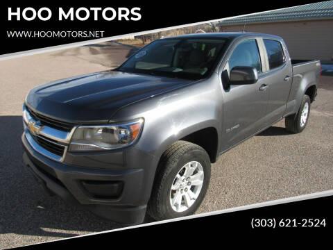 2016 Chevrolet Colorado for sale at HOO MOTORS in Kiowa CO