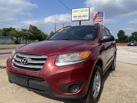 2012 Hyundai Santa Fe for sale at Shock Motors in Garland TX
