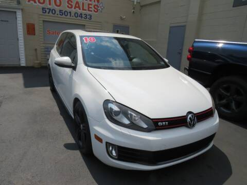 2010 Volkswagen GTI for sale at Small Town Auto Sales in Hazleton PA