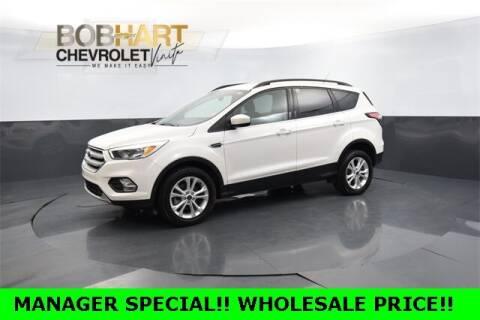 2018 Ford Escape for sale at BOB HART CHEVROLET in Vinita OK