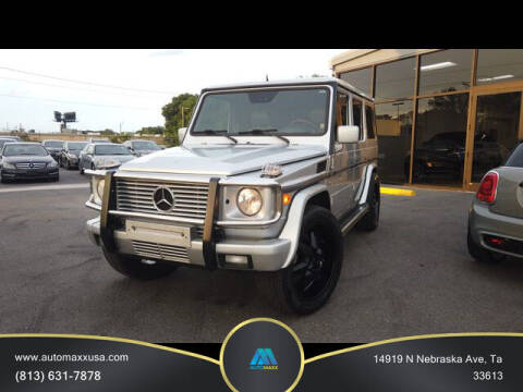 2002 Mercedes-Benz G-Class for sale at Automaxx in Tampa FL
