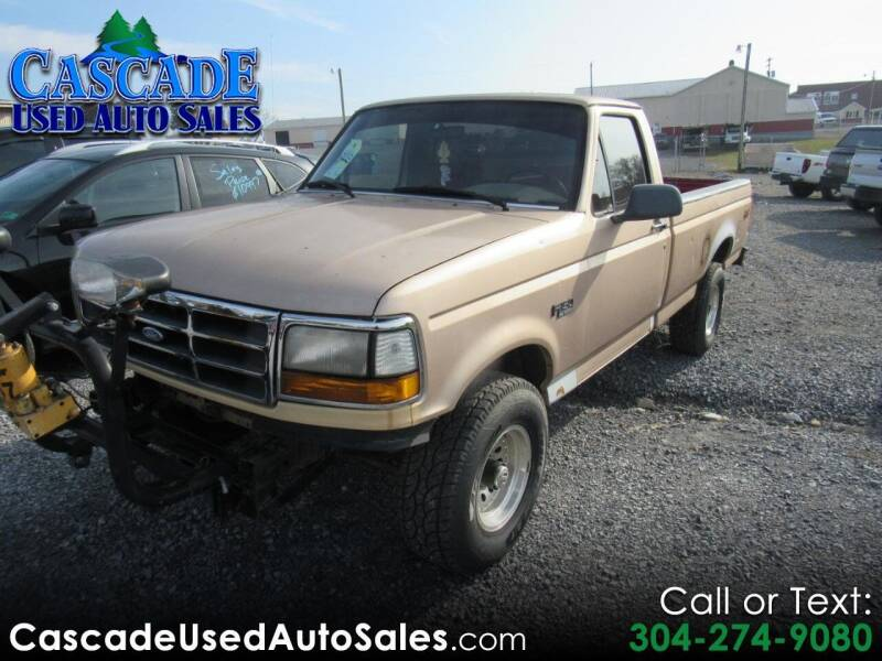 1996 Ford F-150 for sale at Cascade Used Auto Sales in Martinsburg WV