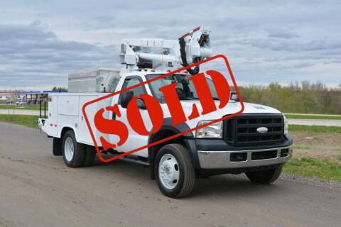 2006 Ford F-550 for sale at Signature Truck Center - Service-Utility Truck in Crystal Lake IL