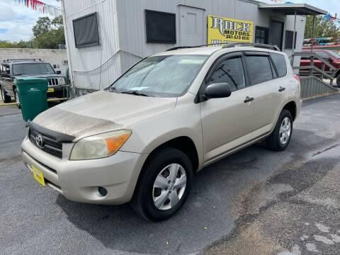2008 Toyota RAV4 for sale at Rock Motors LLC in Victoria TX
