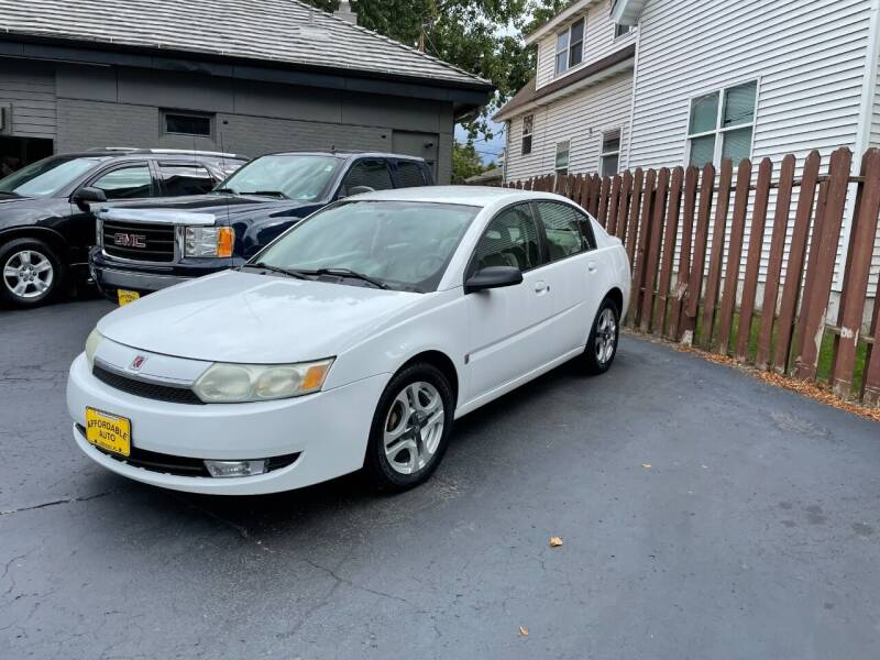 2004 Saturn Ion for sale at AFFORDABLE AUTO, LLC in Green Bay WI