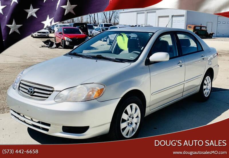 2004 Toyota Corolla for sale at Doug's Auto Sales in Columbia MO