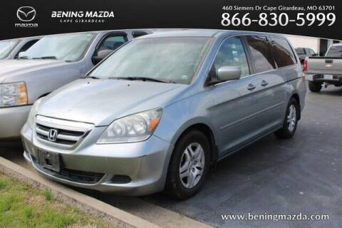 2007 Honda Odyssey for sale at Bening Mazda in Cape Girardeau MO