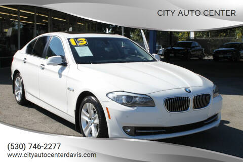 2013 BMW 5 Series for sale at City Auto Center in Davis CA