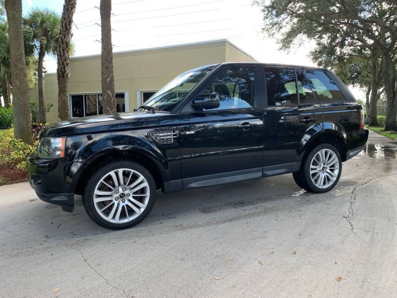 2013 Land Rover Range Rover Sport for sale at Ultimate Dream Cars in Royal Palm Beach FL