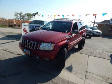 2002 Jeep Grand Cherokee for sale at Dave's discount auto sales Inc in Clearfield UT