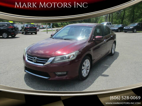 2013 Honda Accord for sale at Mark Motors Inc in Gray KY