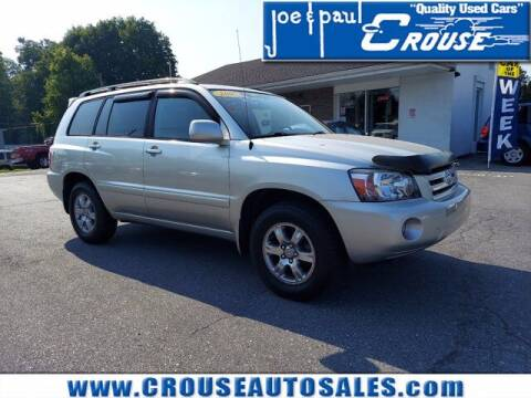 2007 Toyota Highlander for sale at Joe and Paul Crouse Inc. in Columbia PA