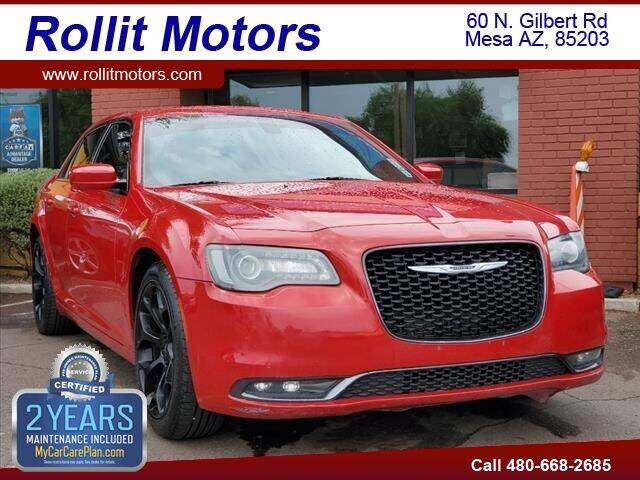 2015 Chrysler 300 for sale at Rollit Motors in Mesa AZ