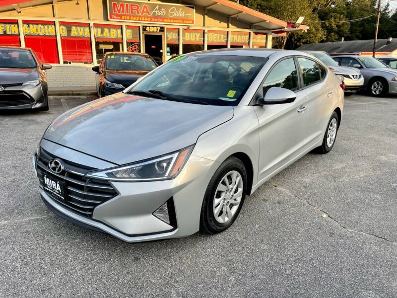 2019 Hyundai Elantra for sale at Mira Auto Sales in Raleigh NC