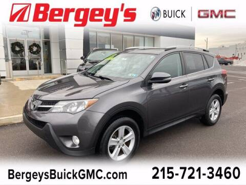 2013 Toyota RAV4 for sale at Bergey's Buick GMC in Souderton PA