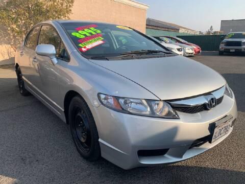 2010 Honda Civic for sale at A1 AUTO SALES in Clovis CA