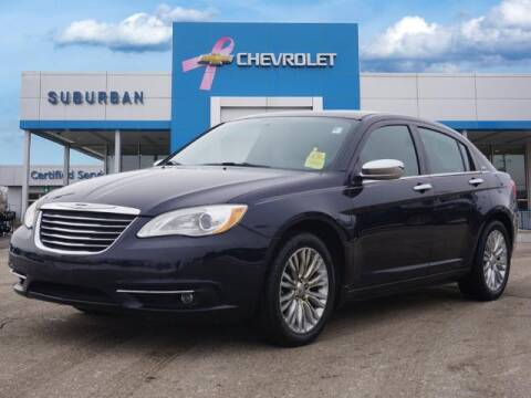 2012 Chrysler 200 for sale at Suburban Chevrolet of Ann Arbor in Ann Arbor MI