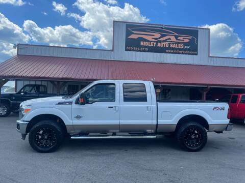 2011 Ford F-250 Super Duty for sale at Ridley Auto Sales, Inc. in White Pine TN