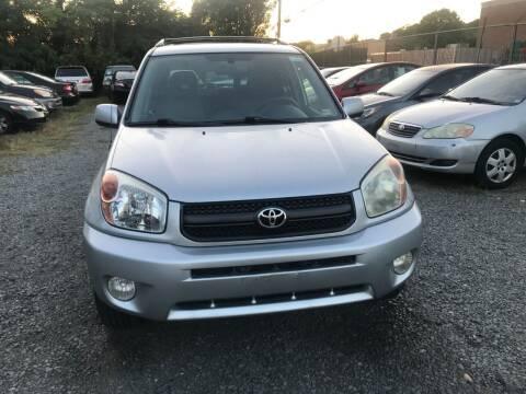 2004 Toyota RAV4 for sale at A & B Auto Finance Company in Alexandria VA
