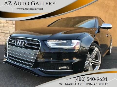 2014 Audi S4 for sale at AZ Auto Gallery in Mesa AZ