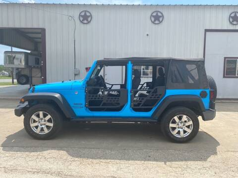 2018 Jeep Wrangler JK Unlimited for sale at Circle T Motors INC in Gonzales TX