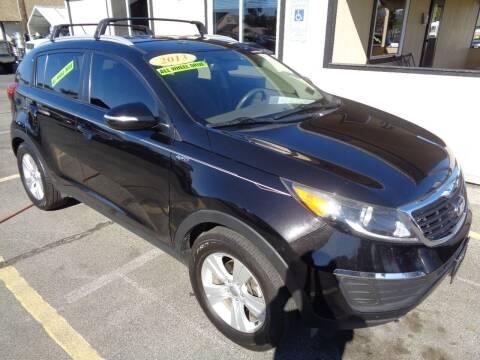 2013 Kia Sportage for sale at BBL Auto Sales in Yakima WA